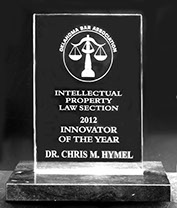 2012 Innovator of the Year – Intellectual Property Section, Oklahoma Bar Association