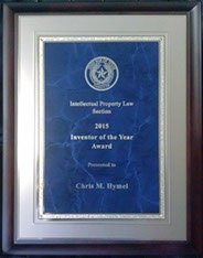 2015 Inventor of the Year – State Bar of Texas Intellectual Property Section